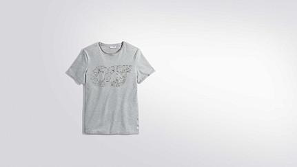 JEGA V1.Y2.01 Taurex® Print T-Shirt grey / melange Hinten Alpha Tauri