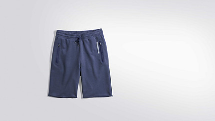 PUGH V2.Y2.01 Sweat Shorts blue Back Alpha Tauri