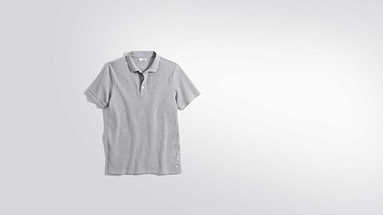 JINX V1.Y2.01 Washed Polo grey / melange Hinten Alpha Tauri