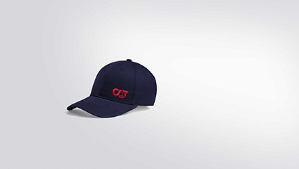 APUC V1.Y2.01 Adjustable Curved Cap navy Back Alpha Tauri