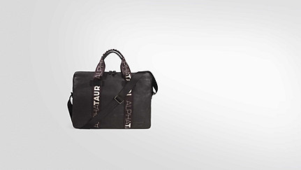 AEON V1.Y2.02 Messenger Bag dark grey Hinten Alpha Tauri