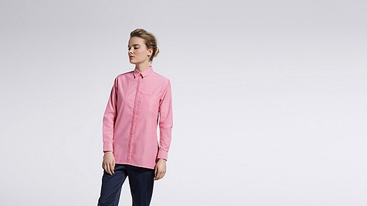 WYIN V1.Y0.02 Casual Shirt rose Model shot Alpha Tauri