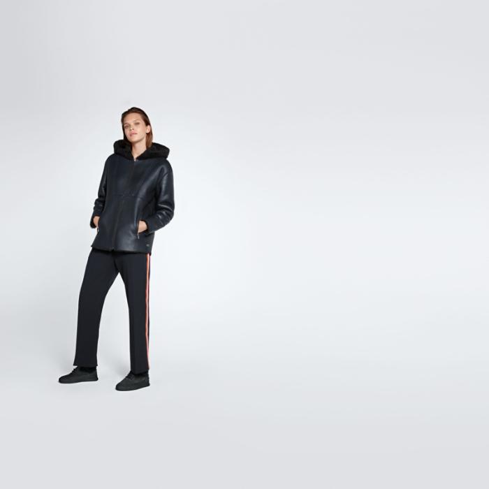 LONI V1.Y1.02 Leather Shearling Jacket Alpha Tauri