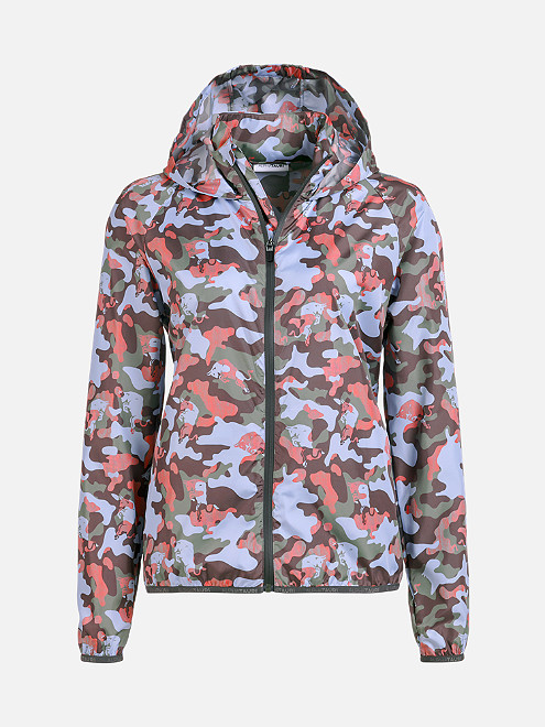 Camouflage 'Packable' Jacket