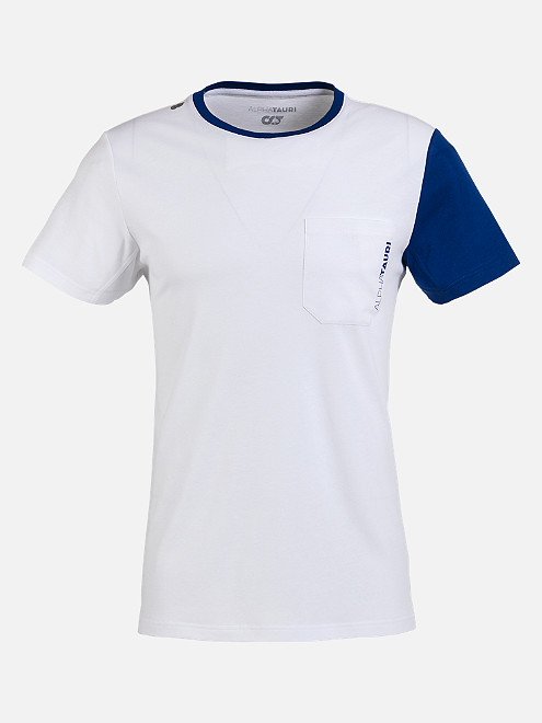 38295f060 Colour-Block T-Shirt with Chest Pocket and Taurex® Technology