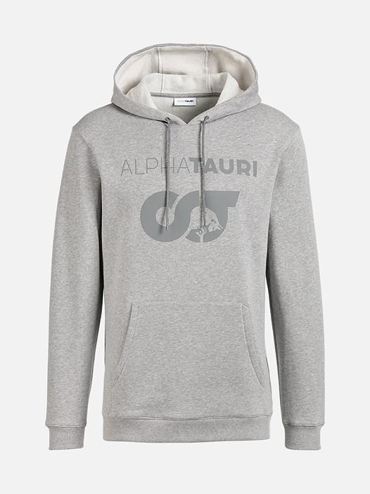SERO V1.Y1.02 Unisex Herobranding Hoodie grey / melange Hinten Alpha Tauri