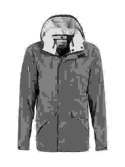 OXOM V1.Y2.01 Reflektierende Taurex® Jacke green Hinten Alpha Tauri