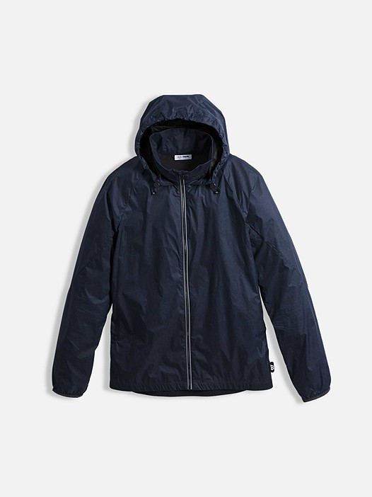 OPAK V1.Y2.01 Packable Jacket navy Back Alpha Tauri