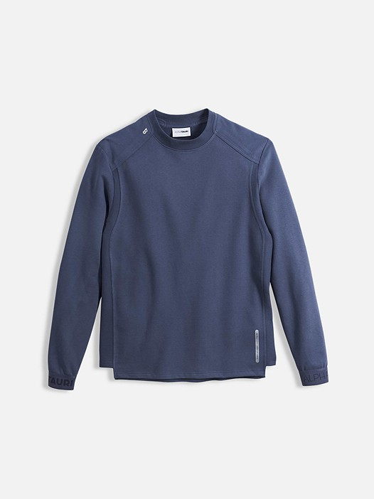 SAUL V1.Y2.01 Taurex® sweater blue Back Alpha Tauri
