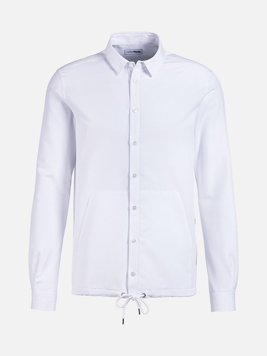 WIDT V4.Y2.01 Casual Shirt white Back Alpha Tauri