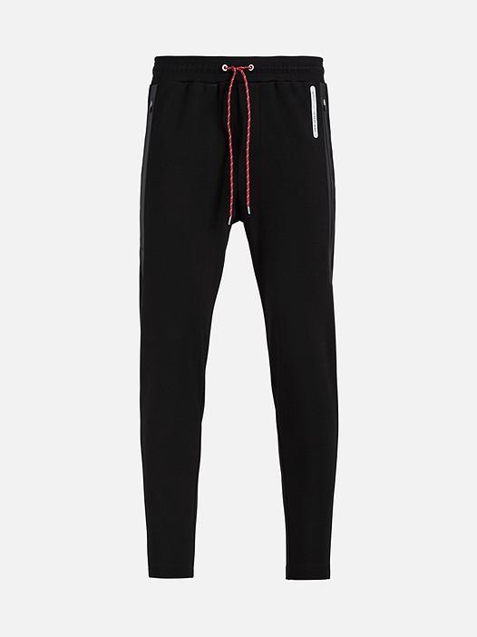 PRYK V2.Y2.01 Technical Sweatpants black Back Alpha Tauri