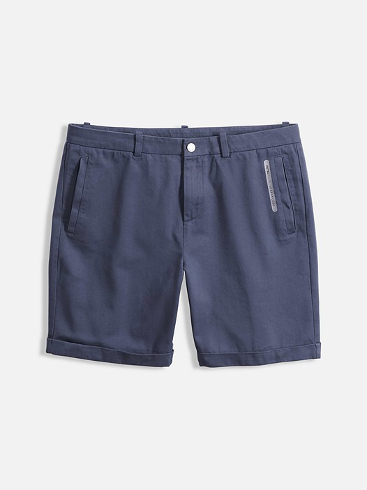 POXO V1.Y2.01 Chino Shorts navy Back Alpha Tauri