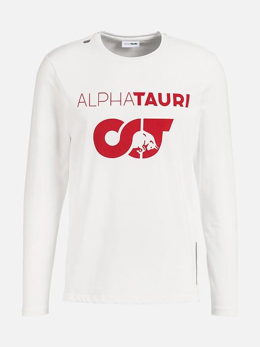 JUIA V1.Y2.02 Herobranding Long-Sleeved T-Shirt white Back Alpha Tauri