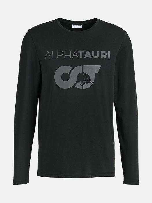 JUIA V1.Y2.02 Herobranding Long-Sleeved T-Shirt black Back Alpha Tauri