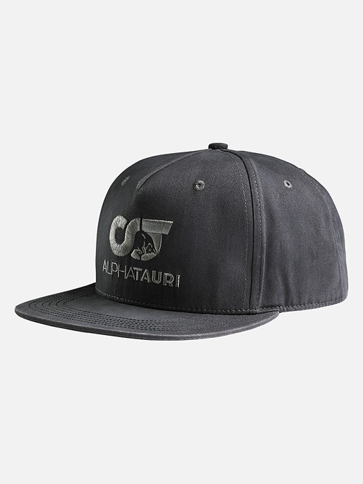 APIC V1.Y2.01 Snapback Cap with Logo grey Back Alpha Tauri