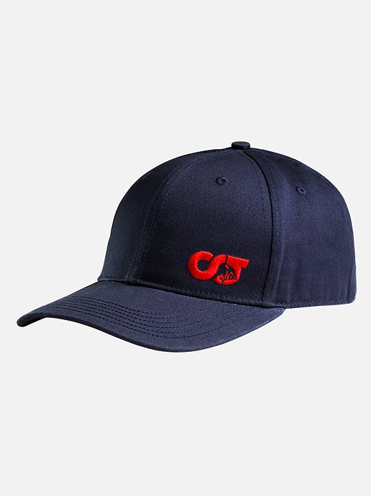 APUC V1.Y2.01 Adjustable Curve-Brimmed Cap navy Back Alpha Tauri