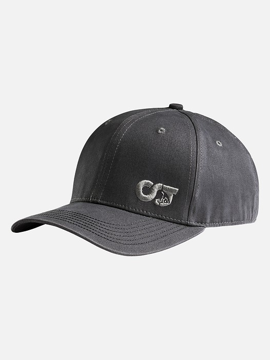 APUC V1.Y2.01 Adjustable Curve-Brimmed Cap grey Back Alpha Tauri