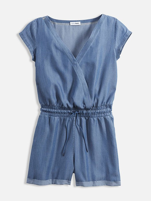 WAXA V1.Y2.01 Short Jumpsuit blue Back Alpha Tauri