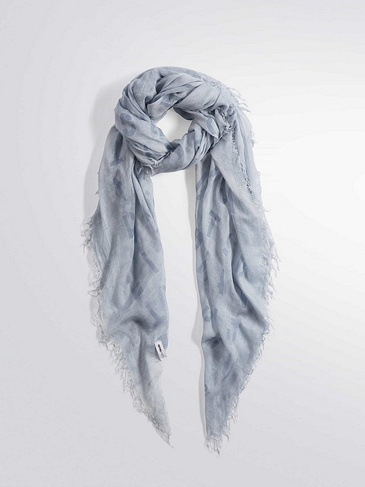 ALIC V1.Y2.01 Lightweight Scarf light blue Back Alpha Tauri