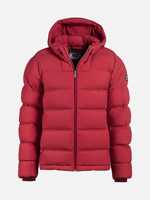 OTOC V1.Y2.02 Quilted Primaloft® Jacket red / other Back Alpha Tauri