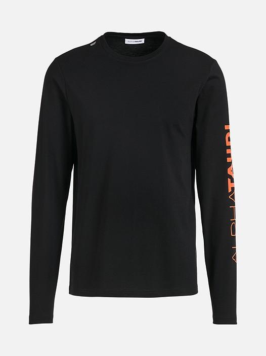 JOSO V1.Y2.01 Taurex® Long-Sleeved T-Shirt with Logo Print black Back Alpha Tauri