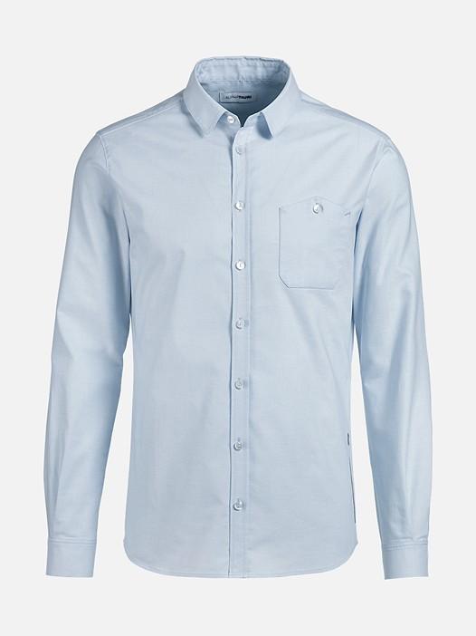 WIDT V5.Y2.02 Casual City Shirt blue Back Alpha Tauri