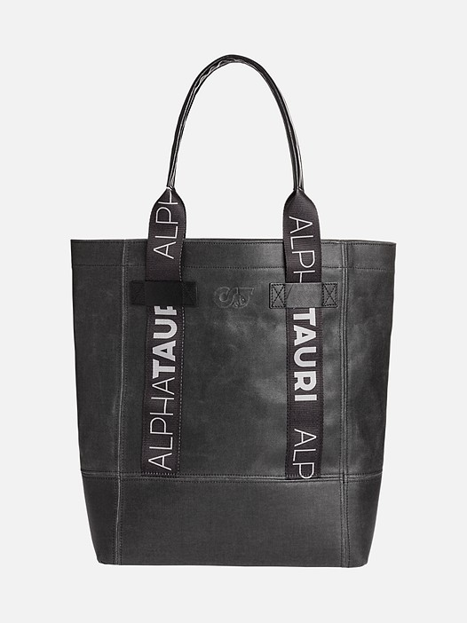 ATOT V1.Y2.02 Tote Bag dark grey Back Alpha Tauri