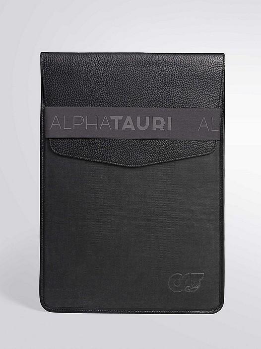ANSER V1.Y2.02 Laptop/iPad Sleeve 13'' & 15'' dark grey Back Alpha Tauri