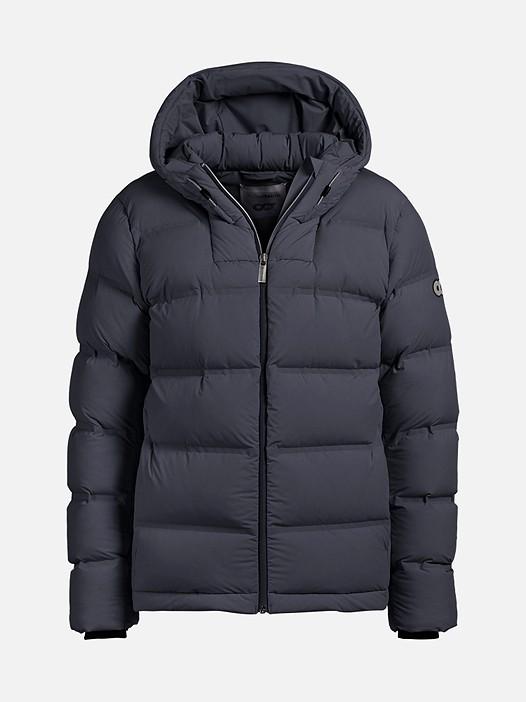OTAC V1.Y2.02 Short Primaloft® Winter Jacket navy Back Alpha Tauri