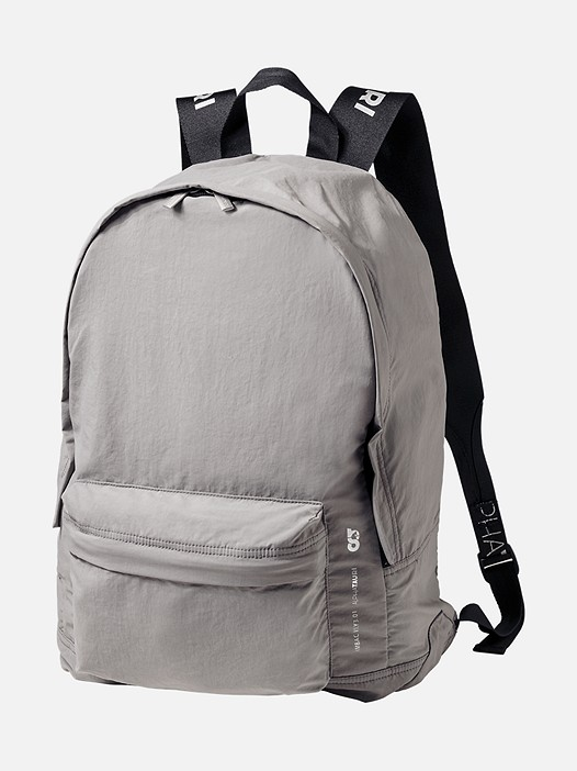 AMBAC V1.Y3.01 Packable Backpack grey Back Alpha Tauri