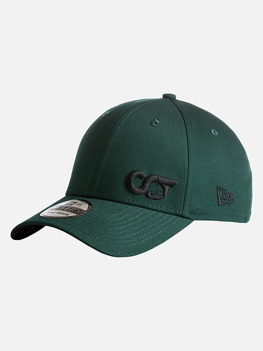 APUC V2.Y3.01 New Era 39Thirty Stretch Fit Cap green Back Alpha Tauri